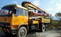 Used Concrete Pump Truck 28M