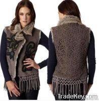 Womens Drift Fur Vest