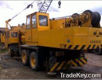 Used XCMG 25E truck crane