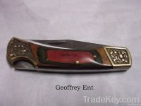Geoffrey ent folding knife