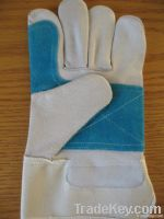 Heavy Duty double palm Leather Working Gloves
