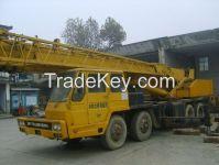 used original Japan tadano 35T truck crane hydraulic 35ton tadano mobile crane