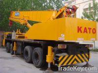 USED TRUCK CRANE KATO NK-500E-V
