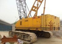 Used Hitachi 80ton Crawler Crane KH300