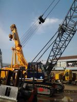 used 55ton crawler crane Kobelco 7055