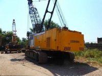 Used Liebherr 80ton crawler crane