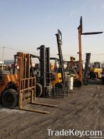 Diesel Engine Used Forklift