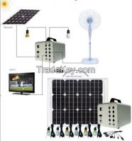 small solar power supply system for home