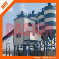 High quality HZS120 concrete batching plant