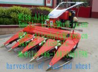 harvester for rice and wheat