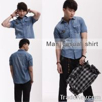 Hot Selling Jeans Casual Shirt for Men 50528