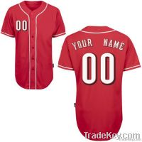 Reds Alternate Any Name Any # Custom Baseball Jersey Uniforms