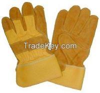 Split Leather Working Gloves, Safety Gloves