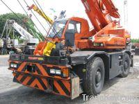 Used Tadano Rough Terrain Crane