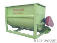High mix uniformity single shaft screw feed mixer machine