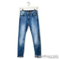 Men Heavy Contrast Jeans