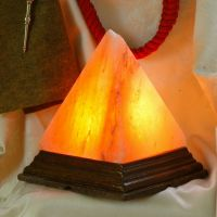 Salt Lamp Pyramid