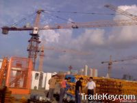 10t tower crane/60m jib crane