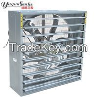 Centrifugal type ventilation fan for greenhouse, poultry,industry