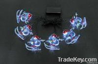 Christmas remote control led string lights