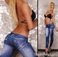 Fashion jean leggings, cheaper leggings