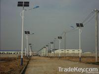 Solar Street Light with 4 panels