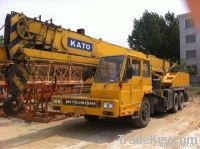 used kato 25 ton crane with excellent condition