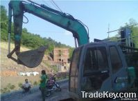 Good used kobelco excavator 60 with high quality