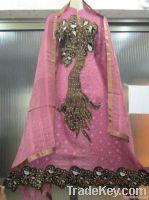 Fancy Salwar Kameez - Embrioded