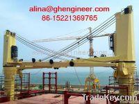 Ship deck crane