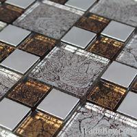 backsplash mosaic tile stainless steel by foshan emart building