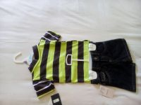 US POLO T-shirts & short denim jeans.