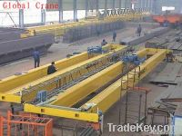 LH Type Electric Hoist Overhead Travelling Crane