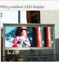 Manufactory Offer Outdoor & Indoor LED Sign