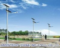 100w solar street light system