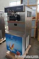 3 flavors high quality soft ice cream machine