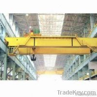 Bridge Foundry Crane with Hook, Lifting Capacity of 5 to 70/20t