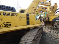 Used KOMATSU PC350-6 Excavator for sale original japan in china