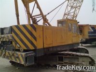 Good working condition of used Hitachi crawer crane is underselling