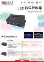 LED digital dmx512 controller series