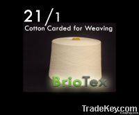 21/1 Cotton Carded Yarn for Weaving