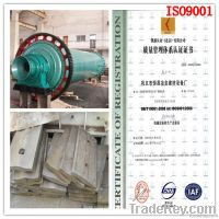 ISO9001 iron ore copper ore mining  Ball Mill