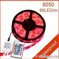 5M 60 led Waterproof Flexible RGB 5050 Led Strip Light