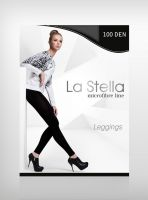 Leggings La Stella - microfibre