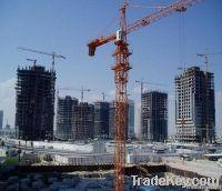 best selling 4t QTZ40 tower crane