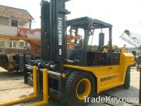 Used Japan Komatsu 15T Forklift