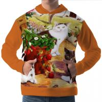 Men Hoodie Hooded Pullover Sweatshirt