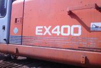 Used HITACHI EX400 excavator