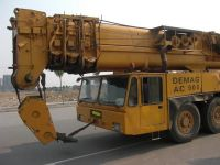 300 ton Used DEMAG crane
