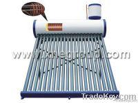 Pre-heated Copper Coil Solar Water Heater